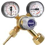 GasIQ Argon-Mix  Mig Tig 2 Gauge Regulator